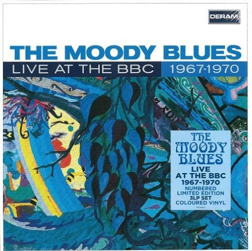 THE MOODY BLUES Live At The BBC 1967-1970 Vinyl Record LP Deram 2019